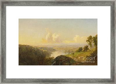 Landscape Framed Print by MotionAge Designs