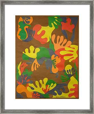 Untitled Framed Print by Teddy Campagna