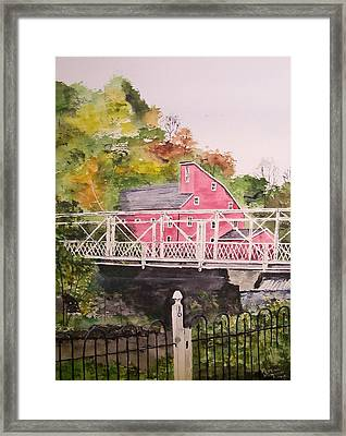 Watercolor Painting Framed Print by Peter Kundra