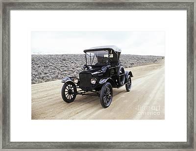American Cars Framed Print by Baron Wolman