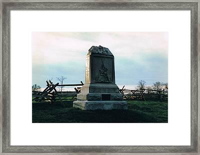 150th Penna. Infantry Framed Print by Joann Renner