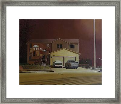 15698 168th Ave. S.e. Framed Print by Thu Nguyen