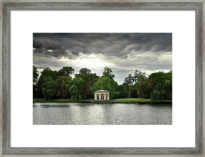 Fontainebleau Palace Framed Print by Olivier Blaise