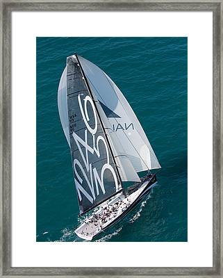 From On High Framed Print by Steven Lapkin