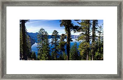 Crater Lake National Park Framed Print by Twenty Two North Photography