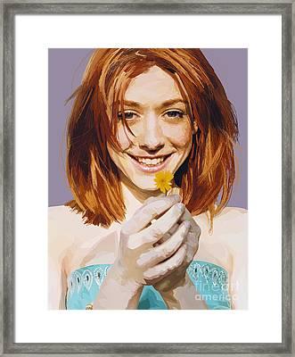 171. And I Think I'm Kinda Gay Framed Print by Tam Hazlewood