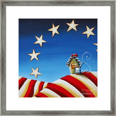 1776 Framed Print by Cindy Thornton