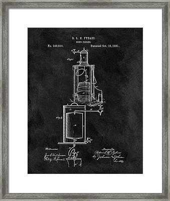 1881 Beer Cooler Framed Print by Dan Sproul