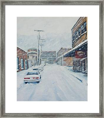 18th From Smallman Framed Print by Erik Schutzman