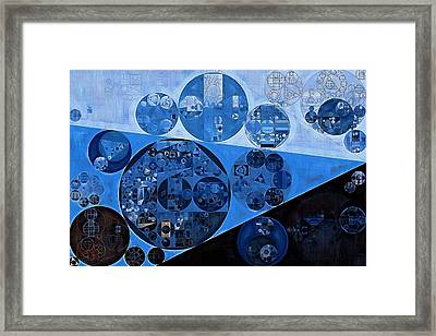 Abstract Painting - Onyx Framed Print by Vitaliy Gladkiy