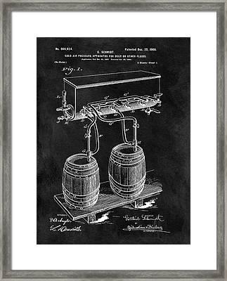 1900 Beer Cooler Framed Print by Dan Sproul