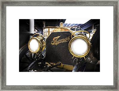 1909 Thomas Flyer Framed Print by Peter Chilelli