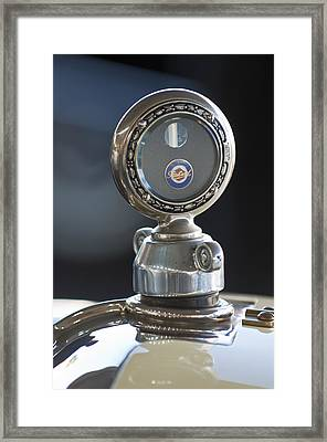 1916 Packard Hood Ornament  Framed Print by Jill Reger