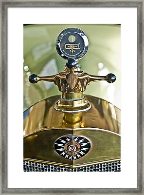 1917 Owen Magnetic M-25 Hood Ornament 2 Framed Print by Jill Reger