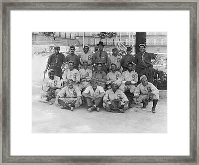 1919 San Francisco Seals Team Framed Print by Underwood Archives
