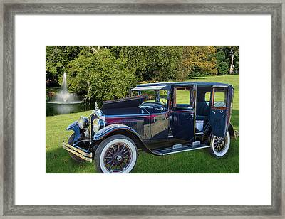 1924 Buick Duchess Antique Vintage Photograph Fine Art Prints 10 Framed Print by M K  Miller