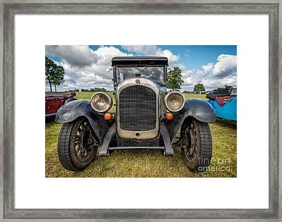 1926 Chrysler Framed Print by Adrian Evans