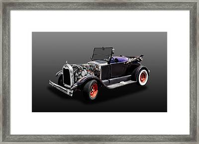 1926 Ford Model T Roadster Convertible  -  1926fdmodt425 Framed Print by Frank J Benz