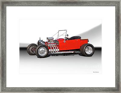 1927 Ford Bucket T Roadster Pickup I Framed Print by Dave Koontz