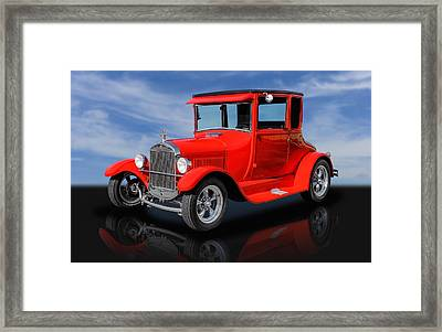 1927 Ford High Top - 1 Framed Print by Frank J Benz
