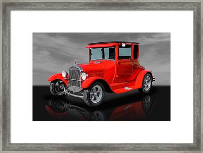 1927 Ford High Top - 2 Framed Print by Frank J Benz