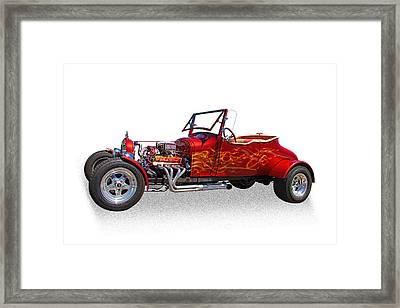 1927 Ford Hot Rod Framed Print by Nick Gray