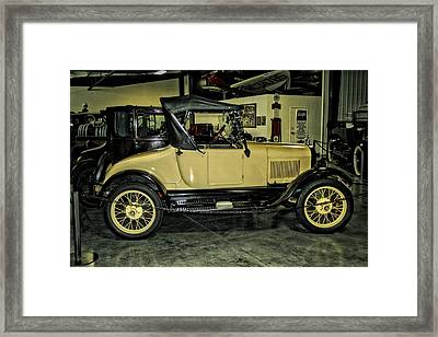 1927 Ford Model T Sport Roadster Framed Print by CJ Anderson
