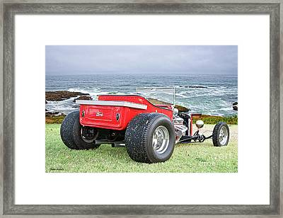 1927 Ford Roadster Pickup Framed Print by Dave Koontz