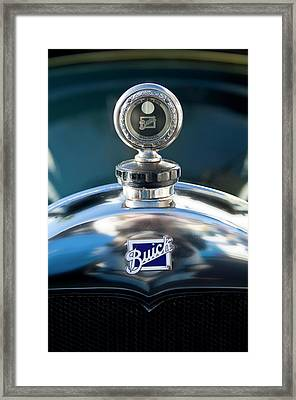 1928 Buick Hood Ornament Framed Print by Jill Reger
