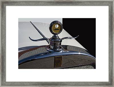 1928 Dodge Hood Ornament Framed Print by Nick Gray