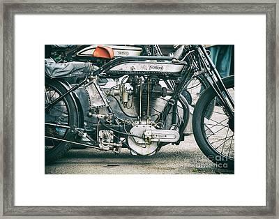 1928 Norton Lpd1 Framed Print by Tim Gainey