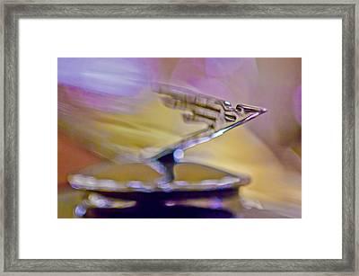 1931 Duesenberg Model J Hood Ornament Framed Print by Jill Reger