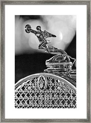 1931 Packard Convertible Victoria Hood Ornament 2 Framed Print by Jill Reger