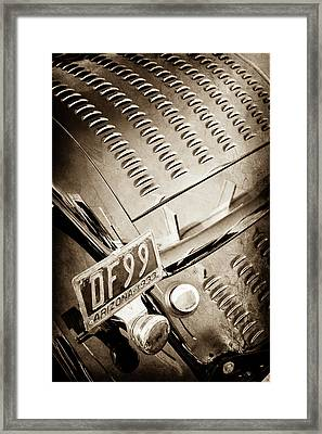 1932 Ford Taillight -0296s Framed Print by Jill Reger