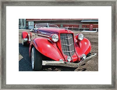 1935 Auburn Speedster 6870 Framed Print by Guy Whiteley