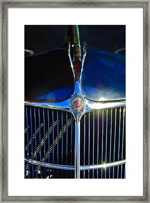 1935 Chrysler Hood Ornament 2 Framed Print by Jill Reger