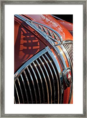 1935 Plymouth Hood Ornament Framed Print by Jill Reger