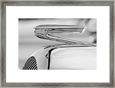 1936 Buick 40 Series Hood Ornament 2 Framed Print by Jill Reger