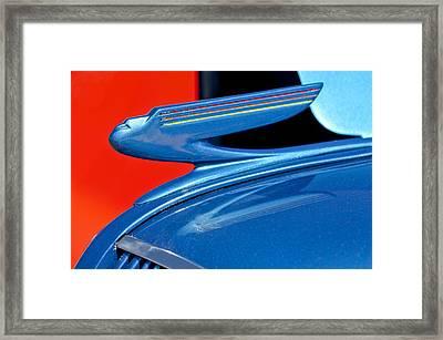 1936 Chevrolet Hood Ornament 2 Framed Print by Jill Reger