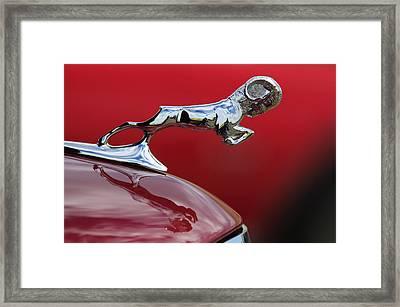 1936 Dodge Ram Framed Print by Jill Reger