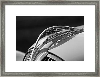 1937 Plymouth Hood Ornament 3 Framed Print by Jill Reger