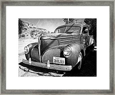 1939 Studebaker Coupe Truck Framed Print by Glenn McCarthy Art and Photography