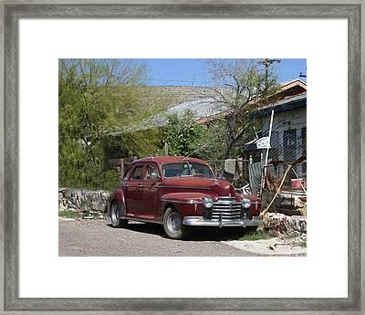 1941 Oldsmobile 60 Sedan Framed Print by Jack Pumphrey