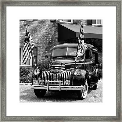 1946 Chevrolet Framed Print by Lois Bryan