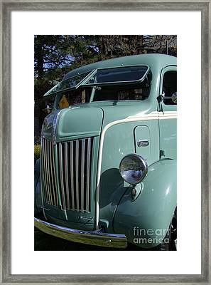 1947 Ford Cab Over Truck Framed Print by Mary Deal