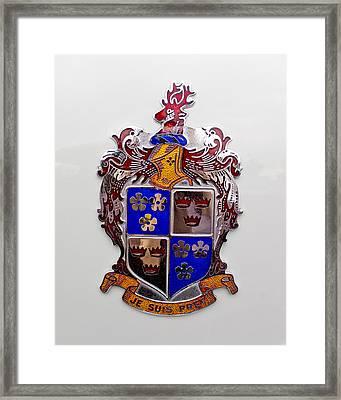 1948 Kaiser-frazer Emblem Framed Print by Jill Reger