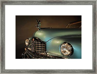 1950 Packard Cormorant Hood Ornament Framed Print by John Bartelt