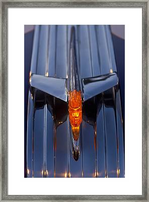 1950 Pontiac Chief Hood Ornament 2 Framed Print by Jill Reger
