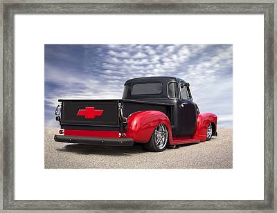 1954 Chevy Truck Lowrider Framed Print by Mike McGlothlen