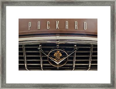 1955 Packard 400 Hood Ornament 2 Framed Print by Jill Reger